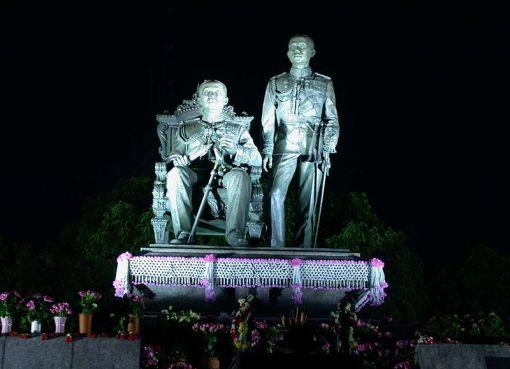 King Chulalongkorn and King Vajiravudh Memorial, Bangkok