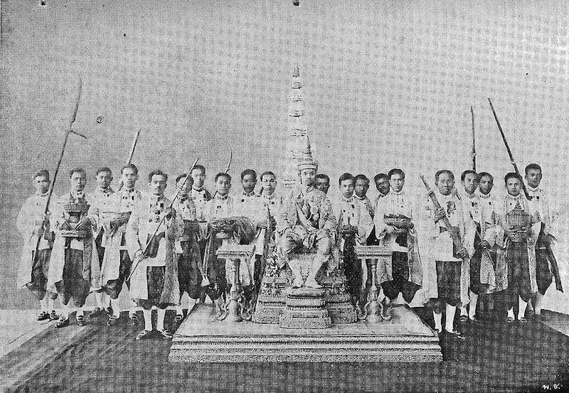 King Prajadhipok, also known as Rama VII