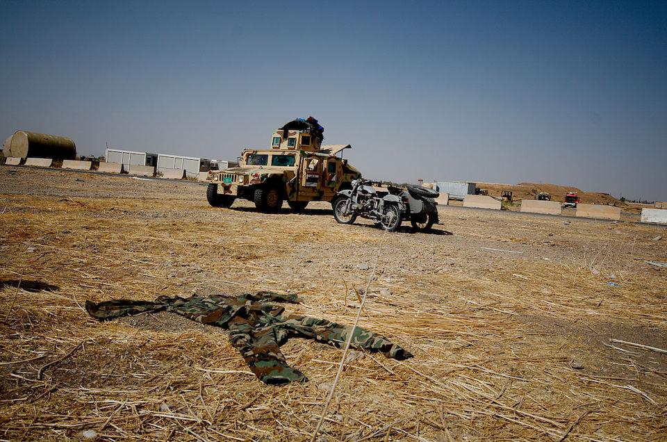 Kirkuk Airport in Iraq