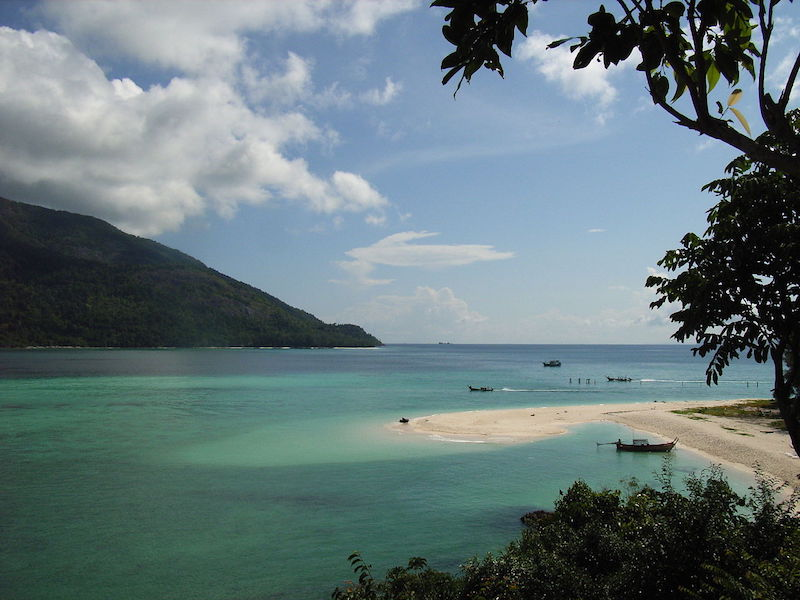 Koh Lipe beach in Satun