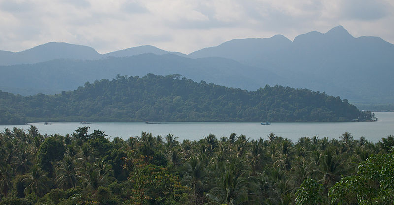 View of Koh Chang in Trat