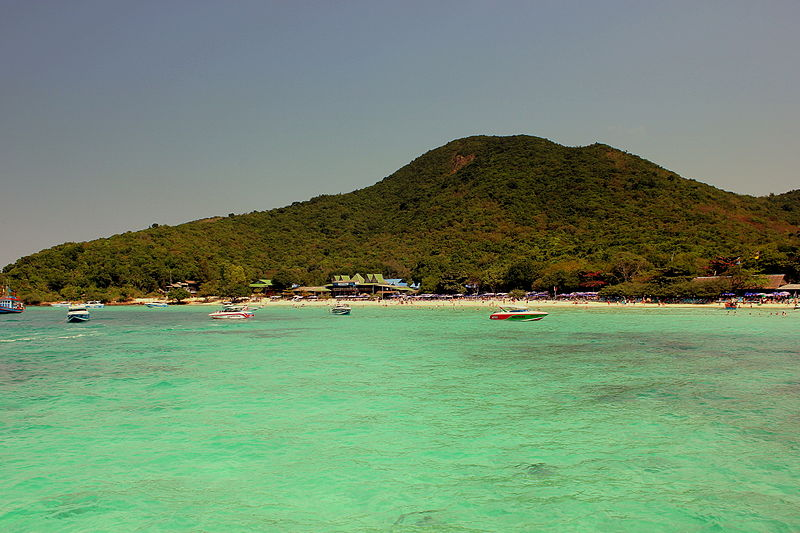 Koh Larn coral Island