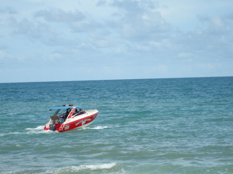 Speedboat in Koh Samed