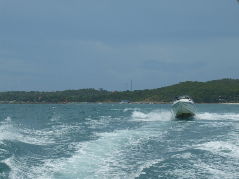 Speedboat off Koh Samed island