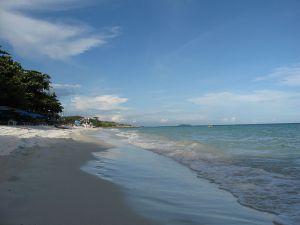 Beach in Hat Saikaew, Koh Samet