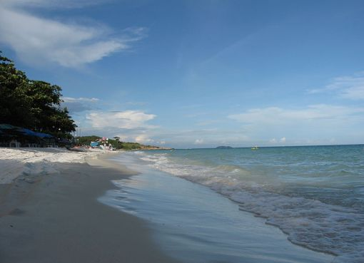 Beach in Hat Saikaew, Koh Samet