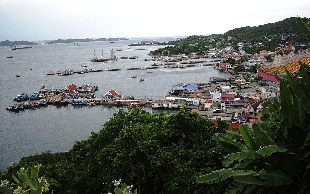 Koh Sichang Harbour in Chonburi