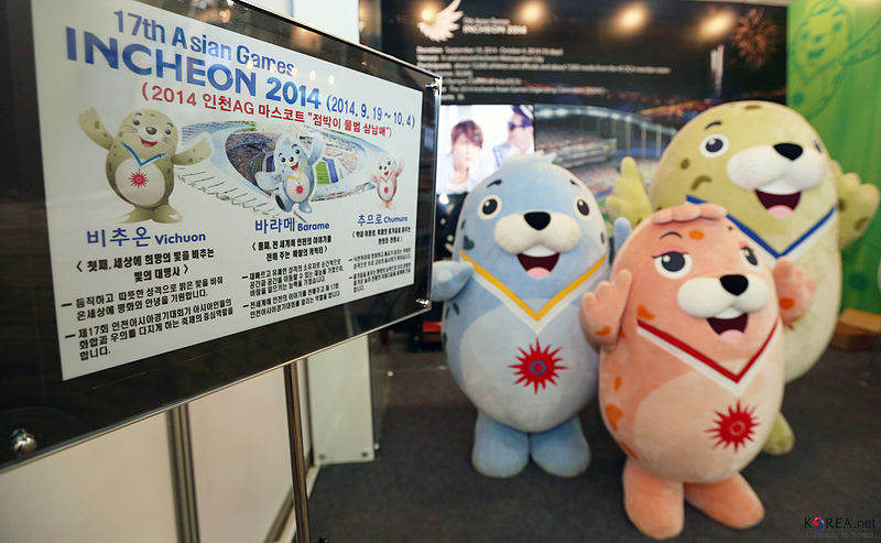 2014 Asian games in Incheon, Korea