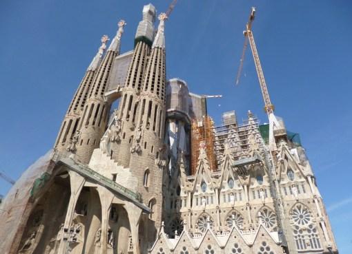La Sagrada Familia in Barcelona, Catalonia