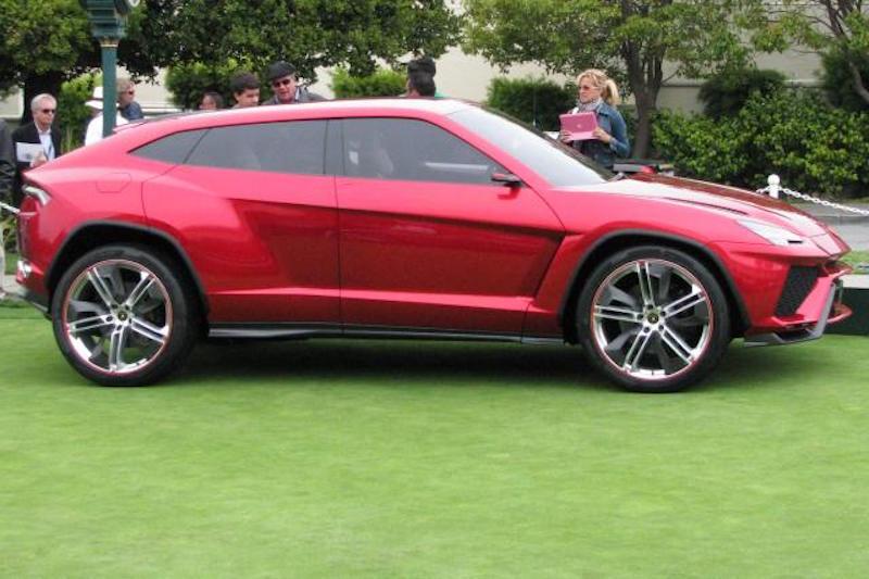 Lamborghini Urus at Pebble Beach Concours d'Elegance