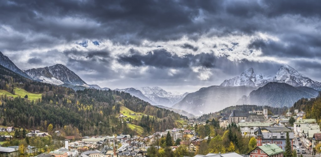 Landscape in the Alps