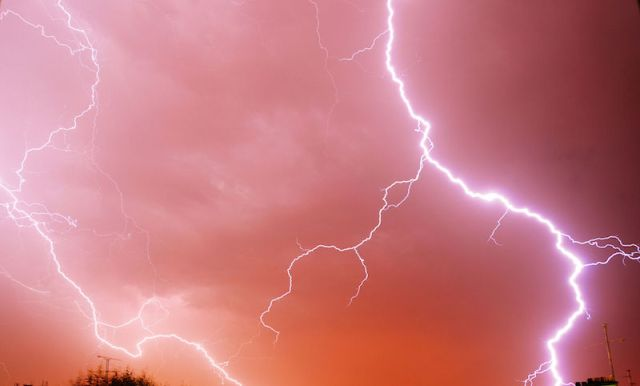 Woman killed, man seriously injured in lightning strike
