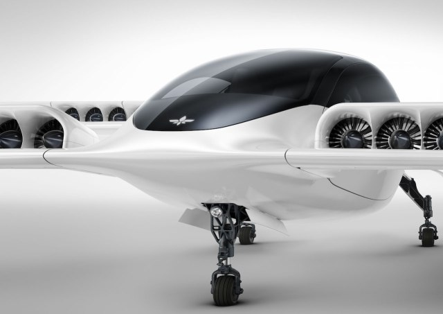 Lilium Jet is the world's first all-electric jet-powered five-seater air taxi.