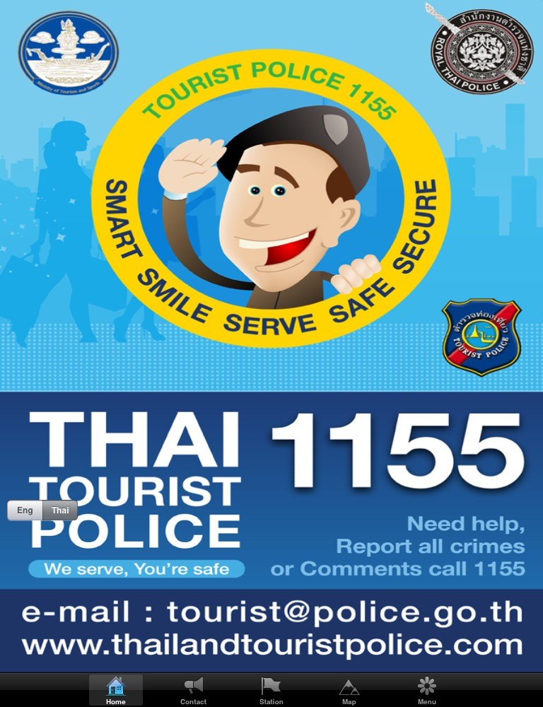 Thai Tourist Police launch Line account