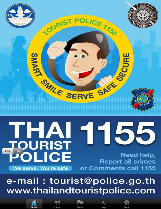 Thai Tourist Police Line
