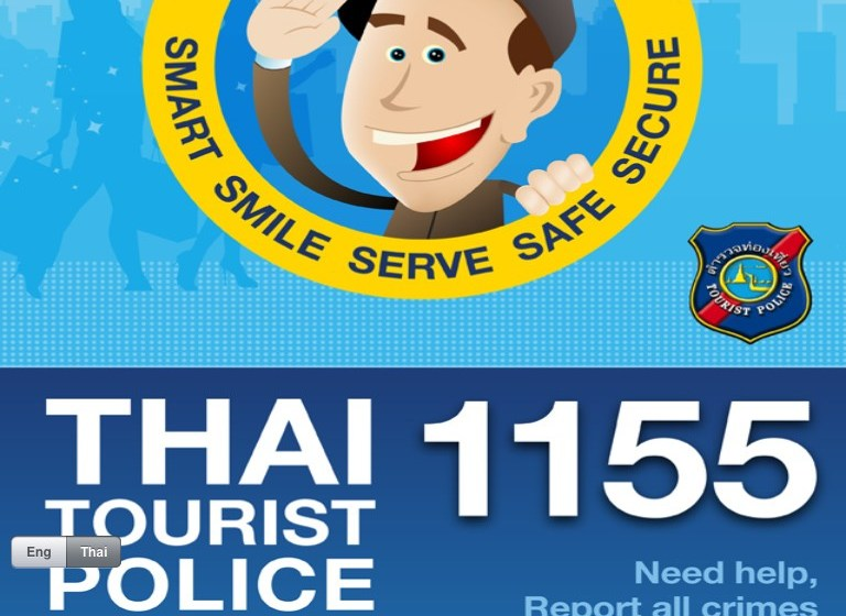 Thai Tourist Police launch Line account