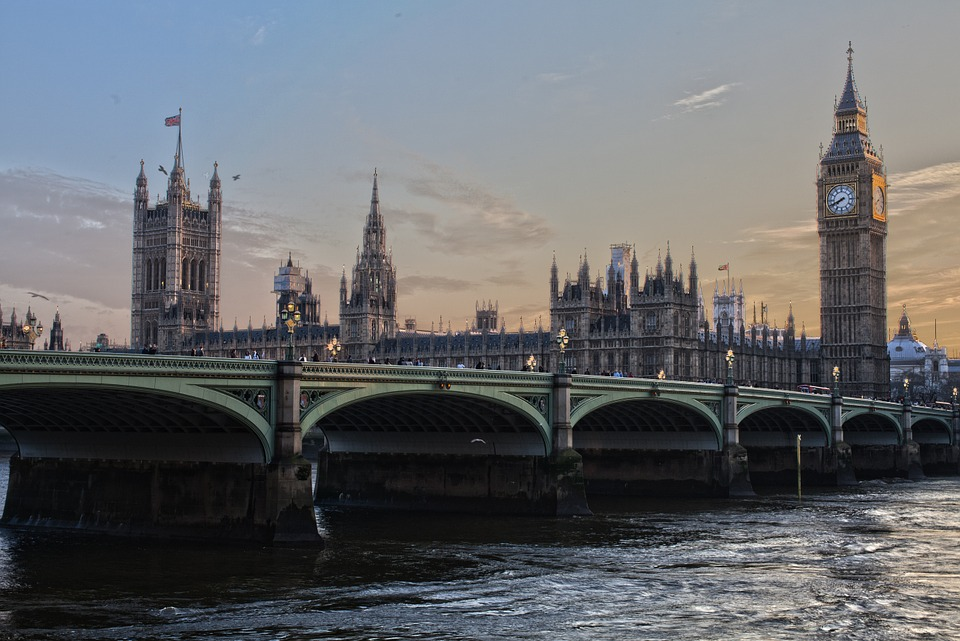 View of London in England, United Kingdom