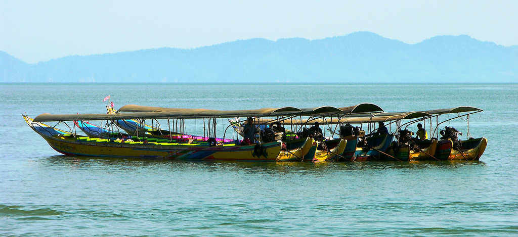 Long Tail Boats in Thailand