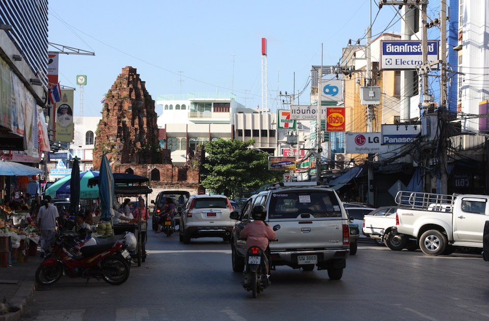 View of Lopburi city