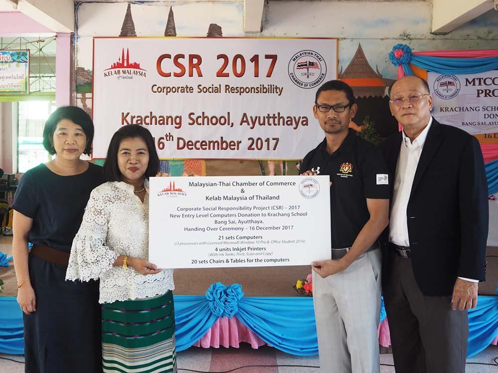 Malaysian-Thai Chamber of Commerce in Ayuthaya