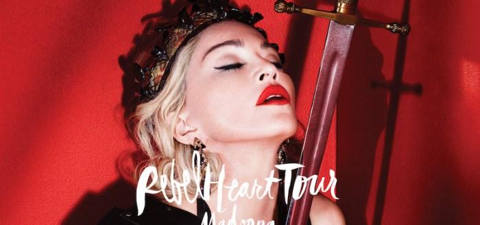 Madonna Rebel Tour in Bangkok.