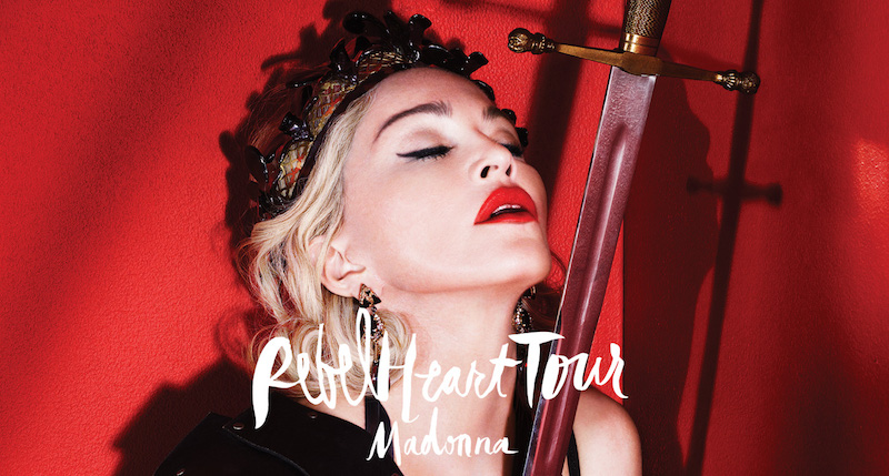 Madonna Rebel Heart Tour in Bangkok on February 9 and 10