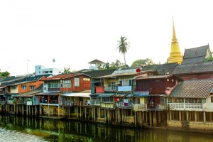Chanthaburi River also known as Mae Nam Chan