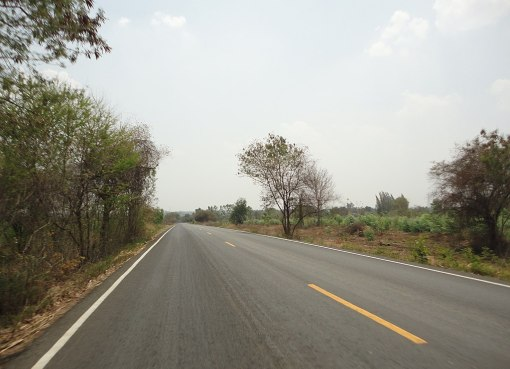 A road in Maha Sarakham
