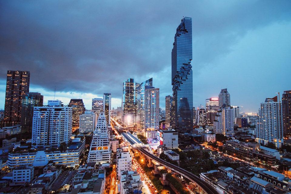 Bangkok's New Tallest Celebrates With Monday Light Shows
