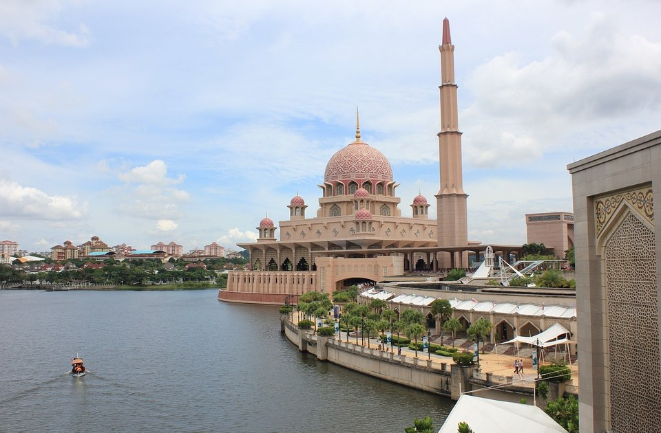 The Putra Mosque in Malaysia