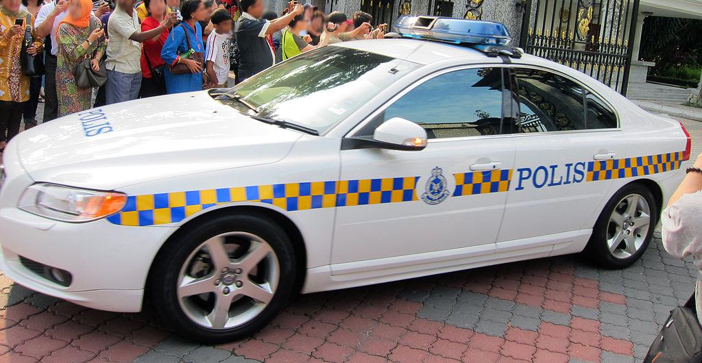 Volvo S80 Malaysian Polis