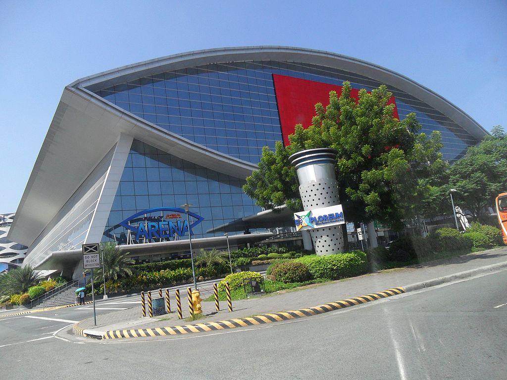 Mall of Asia Complex in Manila, Philippines