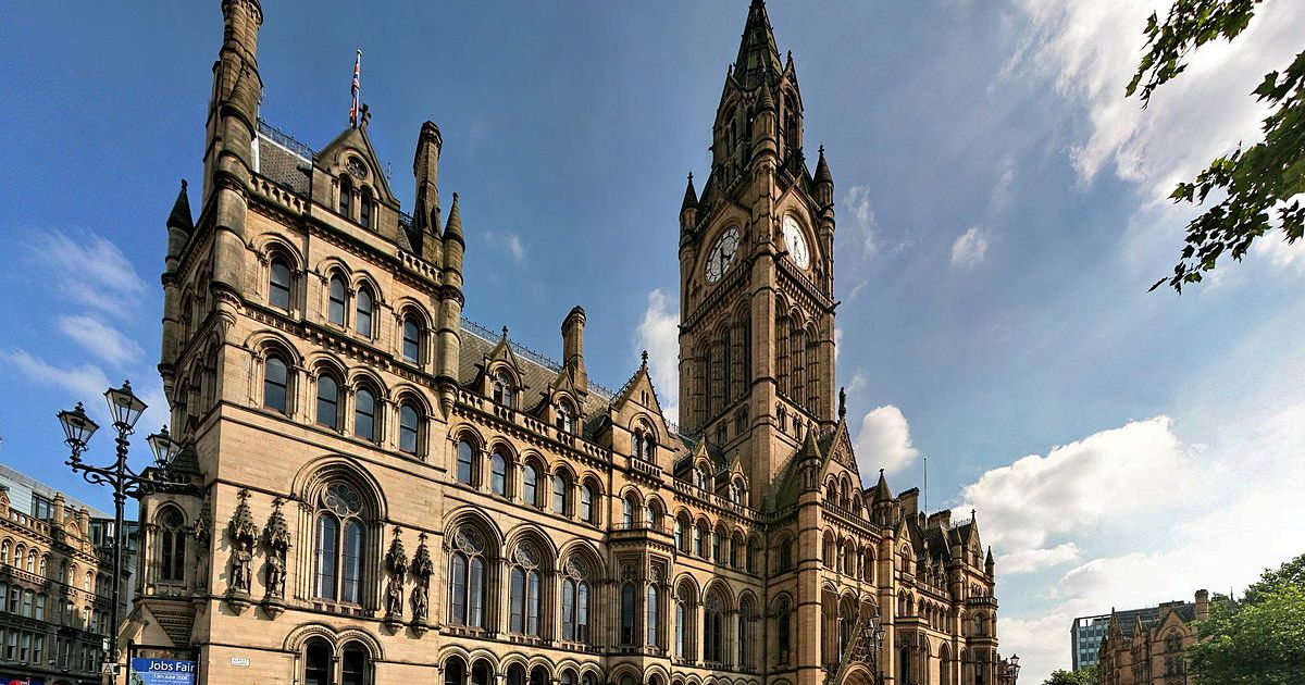 The Town Hall of Manchester