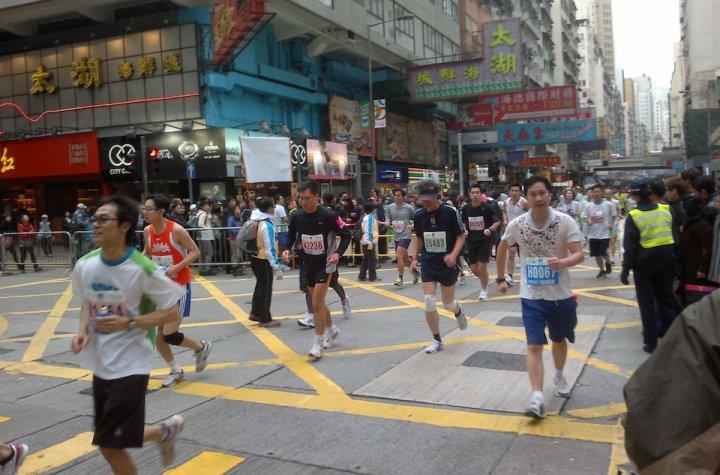 Hong Kong Marathon 2011