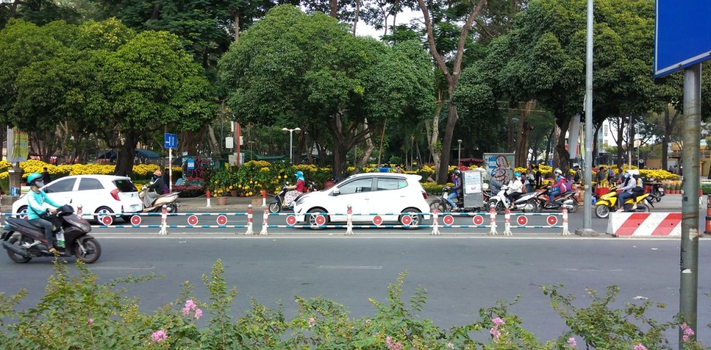 Flower Market in Saigon (Ho Chi Ming)