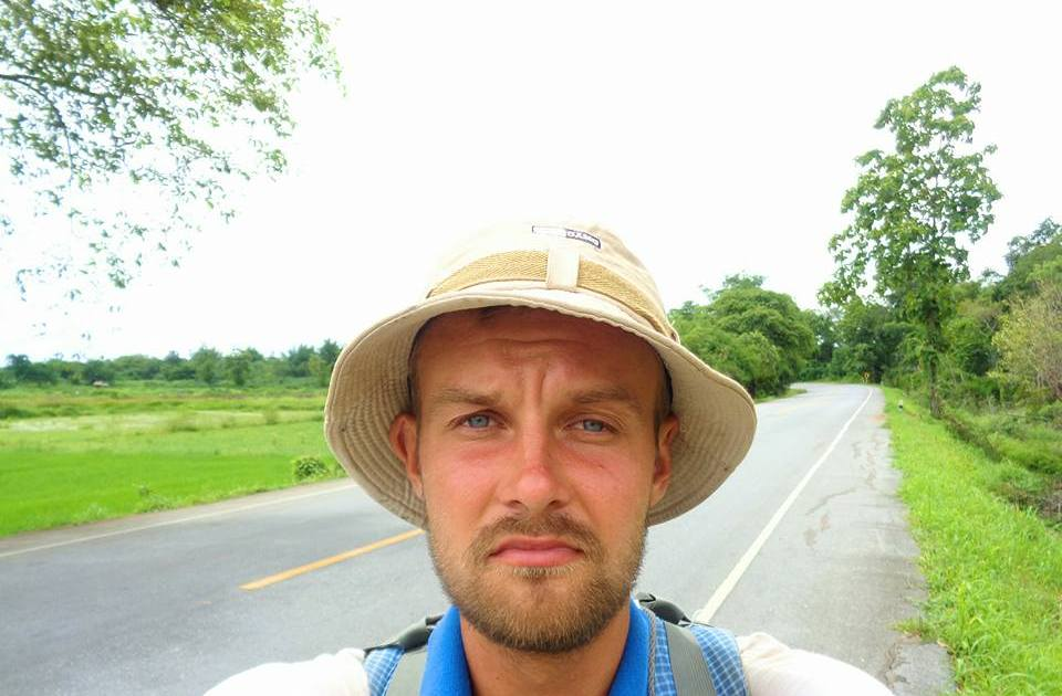 Meigo Märk (26, Estonia) walking around the world