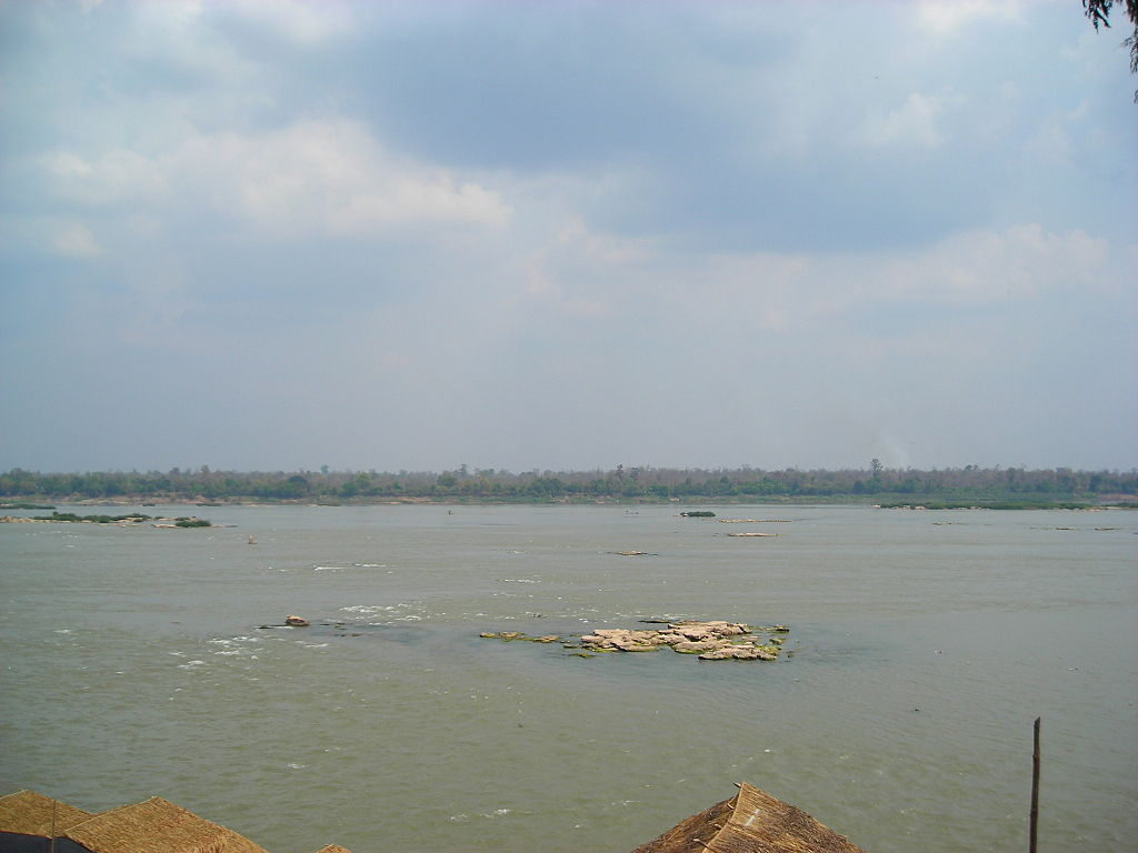 The Mekong River near Mukdahan,