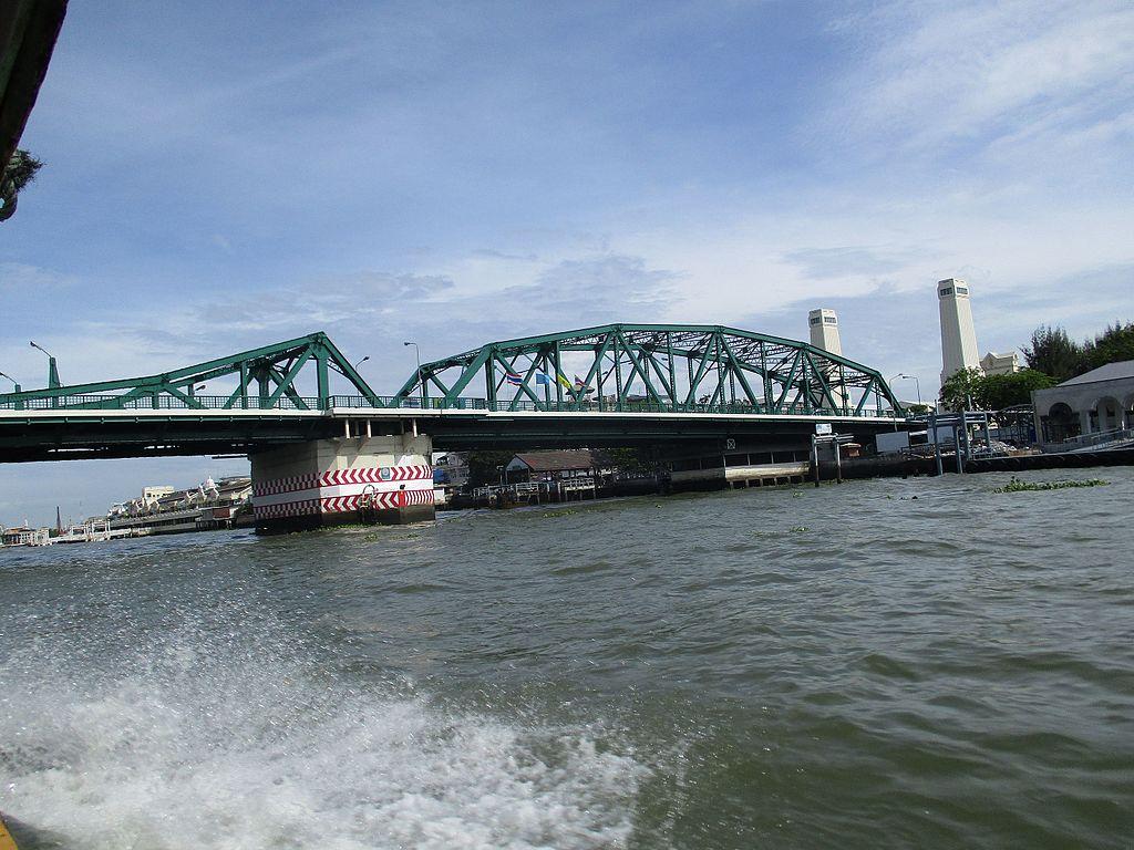 Memorial Bridge in Bangkok