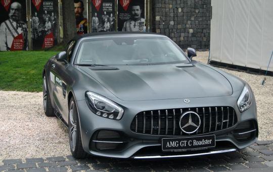 Mercedes Benz AMG GT C Roadster