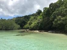 Stunning landscape in Mergui archipelago