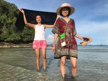 Burmese women in Mergui archipelago