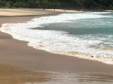 Beautiful beach in Mergui archipelago
