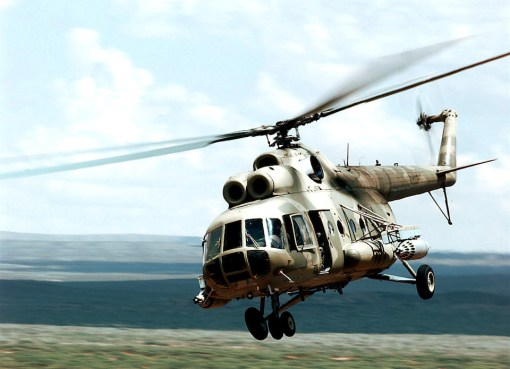 Mi-8 Transport Helicopter