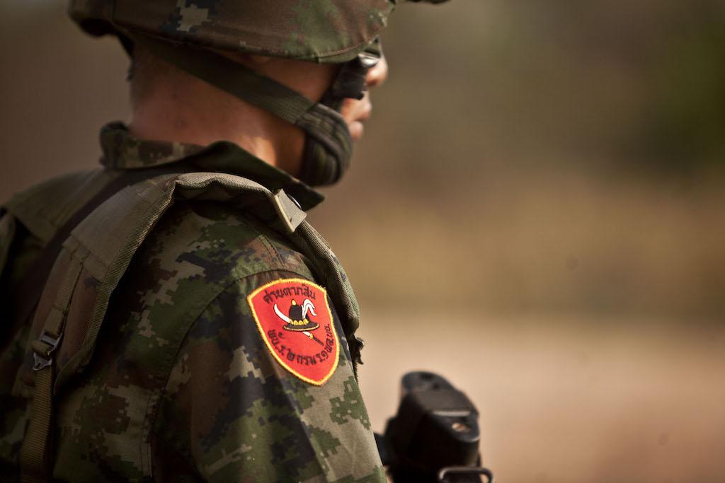 Royal Thai Marines soldier