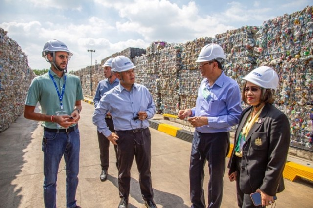 Indorama Ventures Welcomes Ministry of Natural Resources and Environment to PET Recycling Facility in Nakhon Pathom