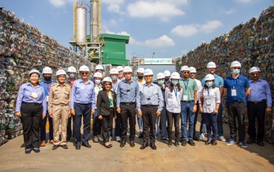 Indorama Ventures Welcomes Ministry of Natural Resources and Environment to PET Recycling Facility in Nakhon Pathom, Central Thailand