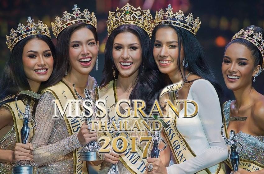 Thai-Italian Crowned Miss Grand Thailand 2017