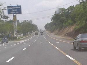 Mittaphap Road in Nakhon Ratchasima