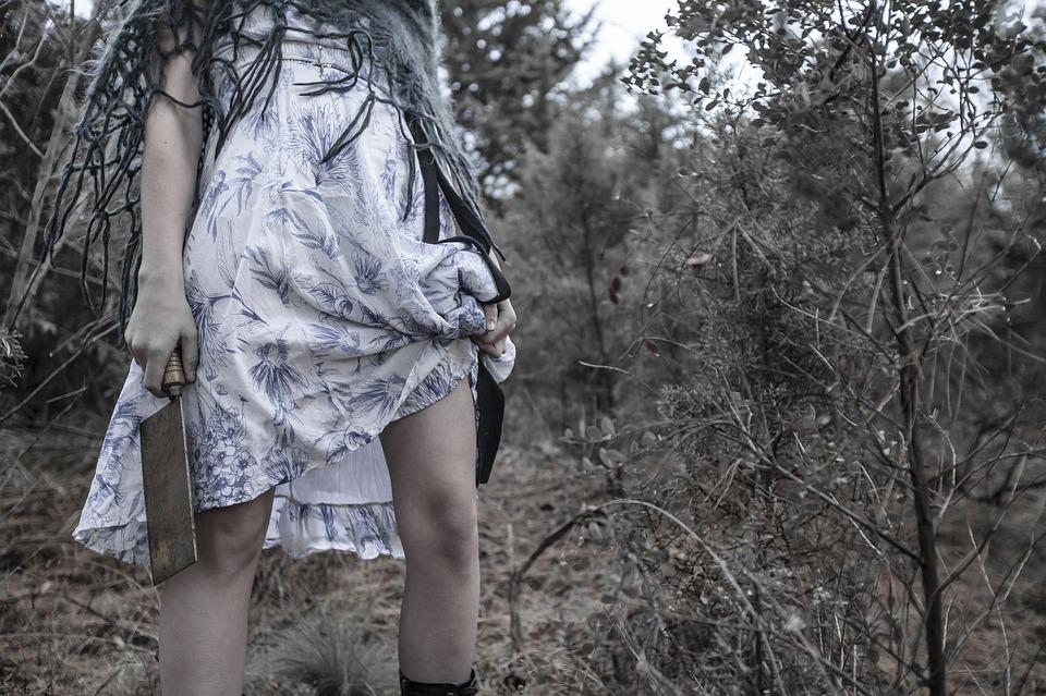 Forest Female Blade Murderer