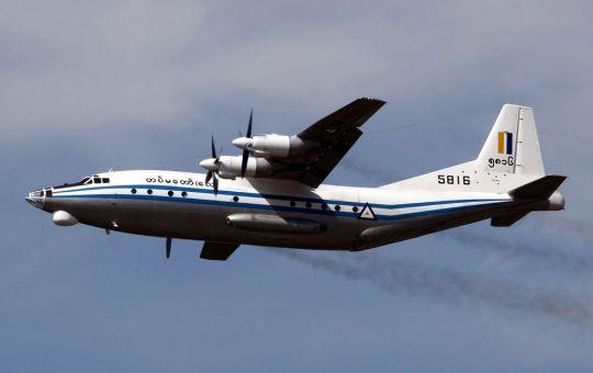Myanmar Air Force Shaanxi Y-8 MRD plane